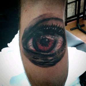 #eye #horror #Tattoodo #blackandgrey #terror #darksidetattoo #tattoomagazine