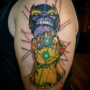 #thanos #infinitygauntlet #marvelcomics #marvel #tattoo #tattooartist #tomnoguera