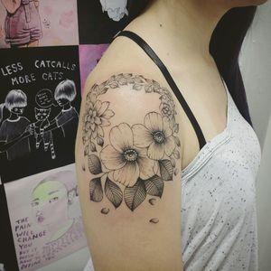 #botanical #botanic #babitattoo #tattoodo #TatuadoraBrasileira #fineline #tattrx