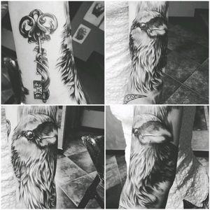 #tattoo #arm #frenchgirl #blackink #inkgirl #tattoolove