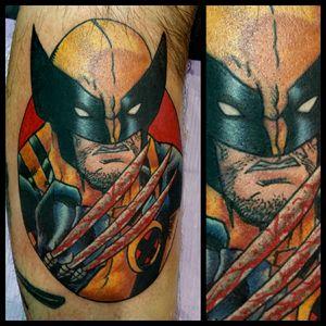 Wolverine #inkfusion #inkfusionempire #geektattoo #geekedouttattoos #geeksterink #geekytattoos #comicbooktattoo #nerdytattoos #nerdtattoo #nerd #traditionaltattoo #realtattoos #realtraditional #tattoos #marvel #marveltattoo #marvelcomics #xmen #xmentattoo #wolverine #wolverinetattoo
