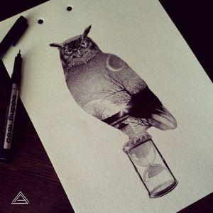 #time #owl #blacknight #night