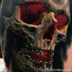 #VicVivid #Skull #Surrealism #Details #Color