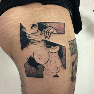 #hot #sexy #erotic #erotictattoo #tattoo #tattoodo #ink #art #tattooart #black #blackwork #naked #scenery #original #tattooed #inked #blackink #sex #blacandgrey #dotwork #choker #scenerytattoo #contrast