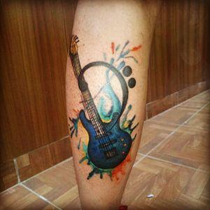 #bassguitar #inkart #inkaddict