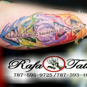 #rafa-Tattoo #watercolorart