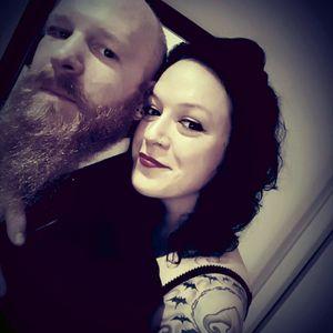 #christmastattooedcouple #tattooedcouple #beard #love @craigthebeard