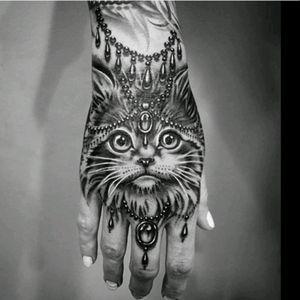 #RyanAshleyMalarky #cat #fineline #blackandgrey