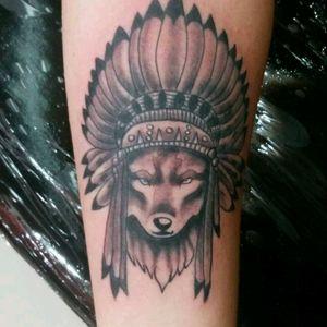 Lobo indígena.