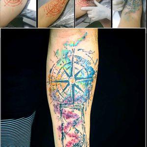 #tattooaquarela #freehand