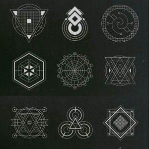 #geometrictattoos