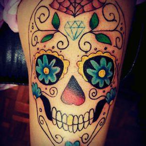 #tattoo #tattooDay #eternalinks #sugarskull