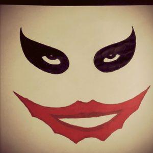 #draw #Joker #thejoker #jokertattoo