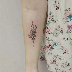 #fineline #babitattoo #tattoobrasil #tattooes #tattoodo #tatuadora #inkgirl