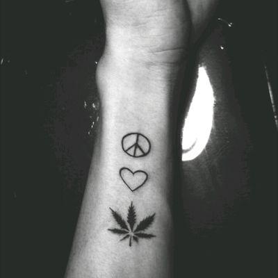 #peace #LOVE #wEED