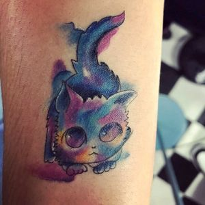 #cat #tattooaquarela