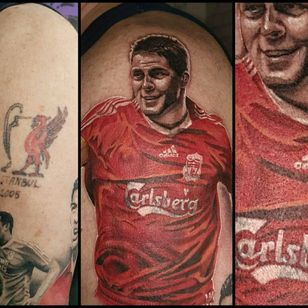 #yarotattoo #tattoo #realistictattoo #stevengerrard #gerrard #lfc #liverpool #liverpoolfc #ynwa #anfield #steven #football #soccer #coverup