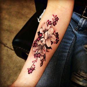 #flowers #blackandred