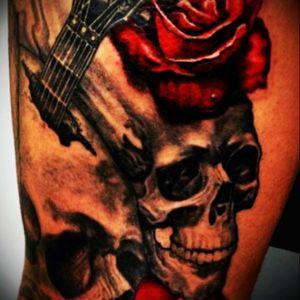 #skulltattoo #skull #flowers #redflowers #redflower #DarkArt #dark #metal #blackmetal #rose #roses #rosestattoo #redroses #redrose #RoseTattoos #tattodoo #tattoo #blackandredtattoo #blackandredink #inkskullart #inkredible