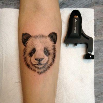 #tattoo #blackandgrey #panda