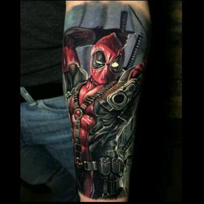🔫 #marvel #Deadpool #actionhero