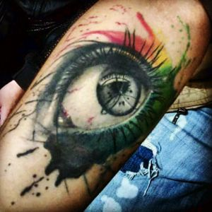 #tattooeyes #tattoo #tattooabstract #tattoorealistic #AbstractWatercolor