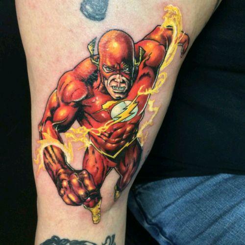 The flash 🏃 #Flash #dccomics #fast #cartoon #ArtistUnknown