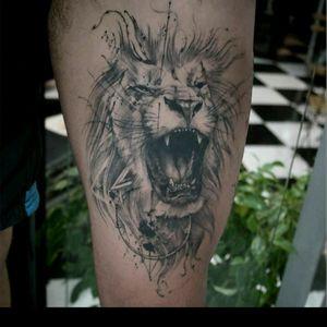 #lion #liontattoo
