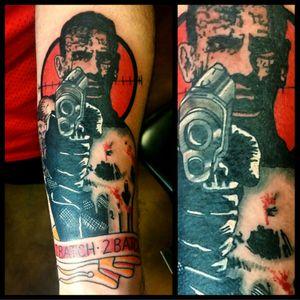 Punisher #tattoo #inked #skinandink #picoftheday #inkmaster #tattoosnob #lasvegas #lasvegastattoo #veganfriendly #walkinswelcome #lasvegastattooshop #tattoos #summerlintattooartist #lasvegastattooartist #inkfusion #inkfusionempire #geektattoo #geekedouttattoos #geeksterink #geekytattoos #comicbooktattoo #nerdytattoos #nerdtattoo #punisher #punishertattoo #daredevil #johnbernthal