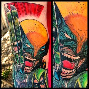 Wolverine #tattoo #inked #skinandink #picoftheday #inkmaster #tattoosnob #lasvegas #lasvegastattoo #veganfriendly #walkinswelcome #lasvegastattooshop #tattoos #summerlintattooartist #lasvegastattooartist #inkfusion #inkfusionempire #geektattoo #geekedouttattoos #geeksterink #geekytattoos #comicbooktattoo #nerdytattoos #nerdtattoo #wolverine #wolverinetattoo #weaponx