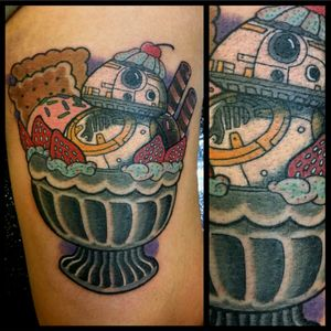 BB-8 Sundae #tattoo #inked #skinandink #picoftheday #inkmaster #tattoosnob #lasvegas #lasvegastattoo #veganfriendly #walkinswelcome #lasvegastattooshop #tattoos #summerlintattooartist #lasvegastattooartist #inkfusion #inkfusionempire #geektattoo #geekedouttattoos #geeksterink #geekytattoos #comicbooktattoo #nerdytattoos #nerdtattoo #bb8 #bb8tattoo #kawaii #cutetattoo #starwars #starwarstattoo