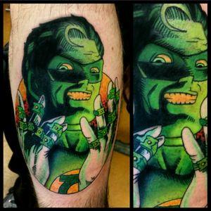 Green Lantern #tattoo #inked #skinandink #picoftheday #inkmaster #tattoosnob #lasvegas #lasvegastattoo #veganfriendly #walkinswelcome #lasvegastattooshop #tattoos #summerlintattooartist #lasvegastattooartist #inkfusion #inkfusionempire #geektattoo #geekedouttattoos #geeksterink #geekytattoos #comicbooktattoo #nerdytattoos #nerdtattoo #dccomics #dccomicstattoo #greenlantern #greenlanterntattoo #haljordan #haljordantattoo