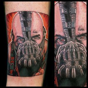 Bane #tattoo #inked #skinandink #picoftheday #inkmaster #tattoosnob #lasvegas #lasvegastattoo #veganfriendly #walkinswelcome #lasvegastattooshop #tattoos #summerlintattooartist #lasvegastattooartist #inkfusion #inkfusionempire #geektattoo #geekedouttattoos #geeksterink #geekytattoos #comicbooktattoo #nerdytattoos #nerdtattoo #dccomics #dccomicstattoo #batman #batmantattoo #bane #banetattoo #thedarkknight #thedarkknightrises