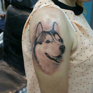 Tattoo in progress...!!!