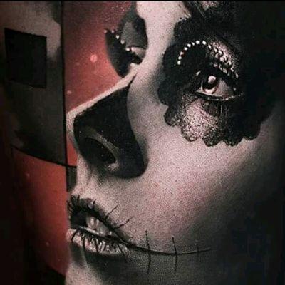 #ThomasCarliJarlier #Realistic #Realism #Portrait #Catrina #Details