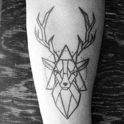 #deer #geometric #mexico