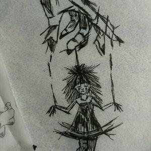#puppe #faden #marionette #frau #hand #skitze