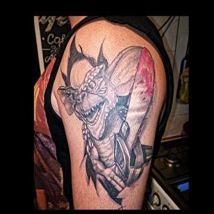 My tattoo healed ✔
