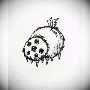 ❤Glommer❤ #tete #sketch #dontstarve #game #cute #apprenticetattoo #tattoos #tattoo
