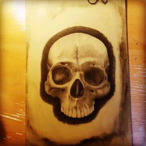Work in progress  #skull #skulls #realism