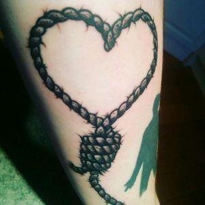 Heart shaped Noose.