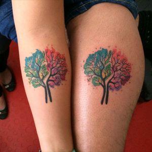 #familytattoo #colorida #tree