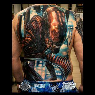 ALIEN by Ilya fom 💥💥💥💥#ilyafom #alien #hiperrealism #movie #nice👌 #scary #awesome