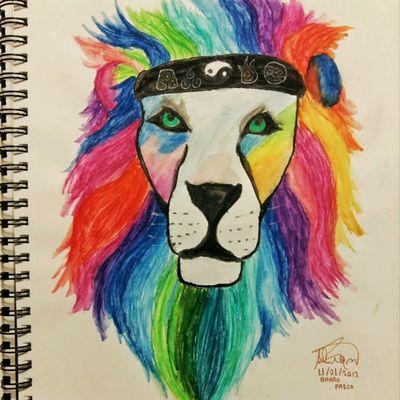 #lion #animal #tattoosketch #drawing #draw #lionking #lionhead #bigcat