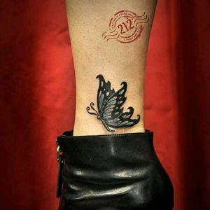 #butterflytattoo #butterflytattoos #coveruptattoo #butterfly