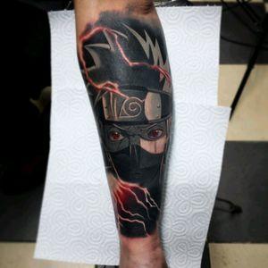 #Dawid_Walczak_Kamel #Golden_Hand_Tattoo #kakashi #naruto