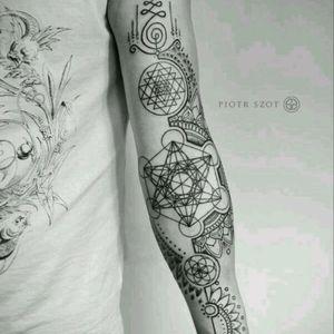 #sacredgeometry #floweroflife #unalome #sleeve