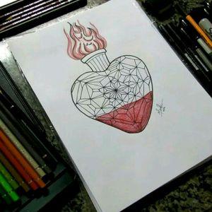 #heart #tattoodrawing #tattoosketch