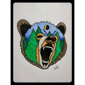 #bear #beartattoo #tattoodrawing #tattoosketch