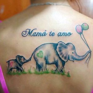 #mauromilan#tattoelefantes